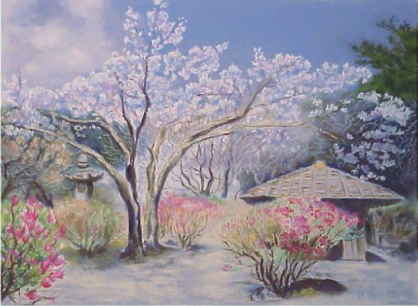 Paysage du japons - Dessiner un paysage ...